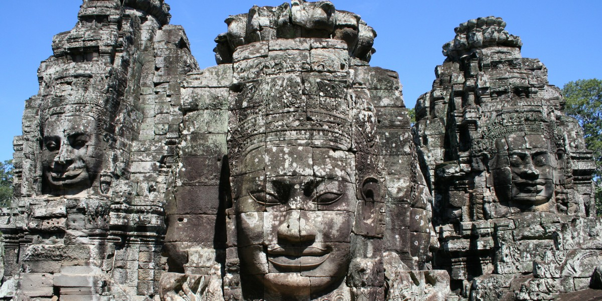 Bayon Temple, Siem Reap, Cambodia – June 2011