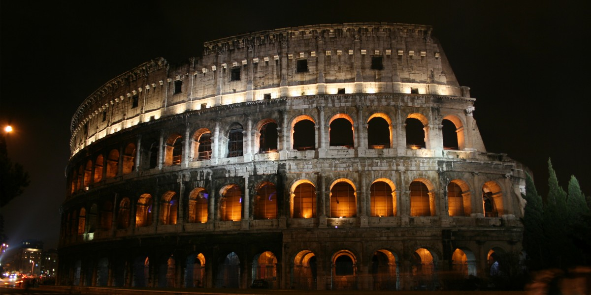 Colosseum, Rome, Italy – January 2007