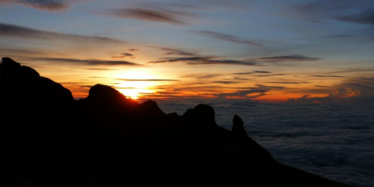 Low's Peak, Mt Kinabalu, Borneo, Malaysia – January 2013