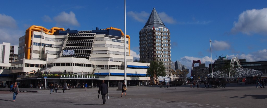 Library, Cube Houses, Pencil Building & Blaak station