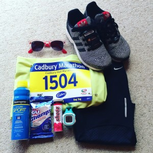 Clothes & Accessories ready for race