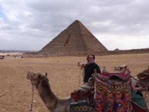 Camel Riding at the Pyramids of Giza