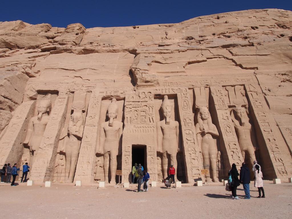 Abu Simbel - Nefertari
