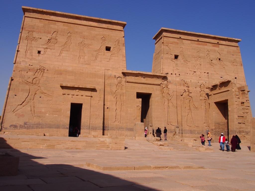Philae Temple Gates