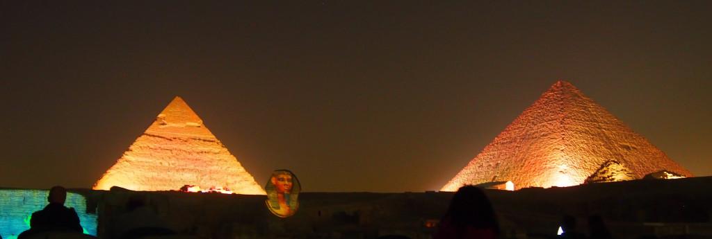 Pyramids of Gaza Light and Sound Show