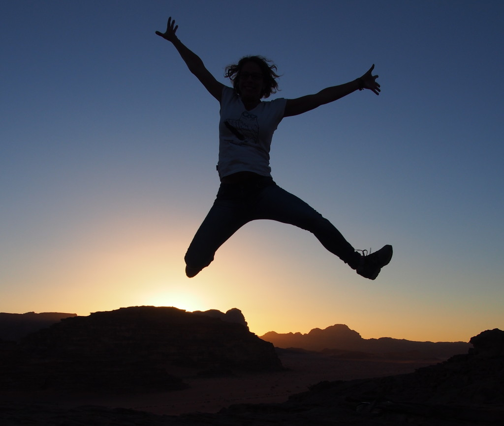 Sunset Fun in the desert