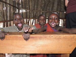 School children in a Maasai Village