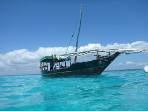 Our boat for the snorkelling trip