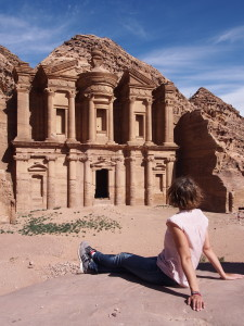 The Ad-Deir Monastery at Petra