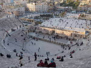 Roman Forum in Downtown Amman