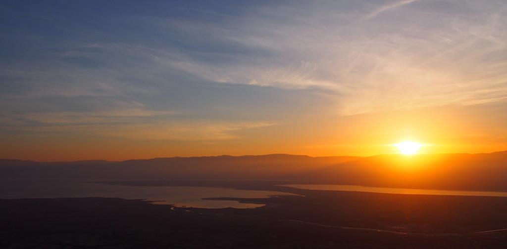Sunrise from Masada
