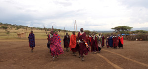 Maasai Village Welcome