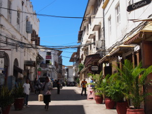 The streets of Stone Town