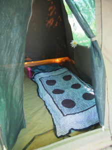 My home away from home, my tent