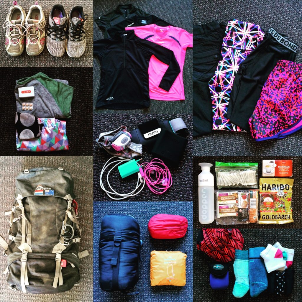 Items to pack for the Camino