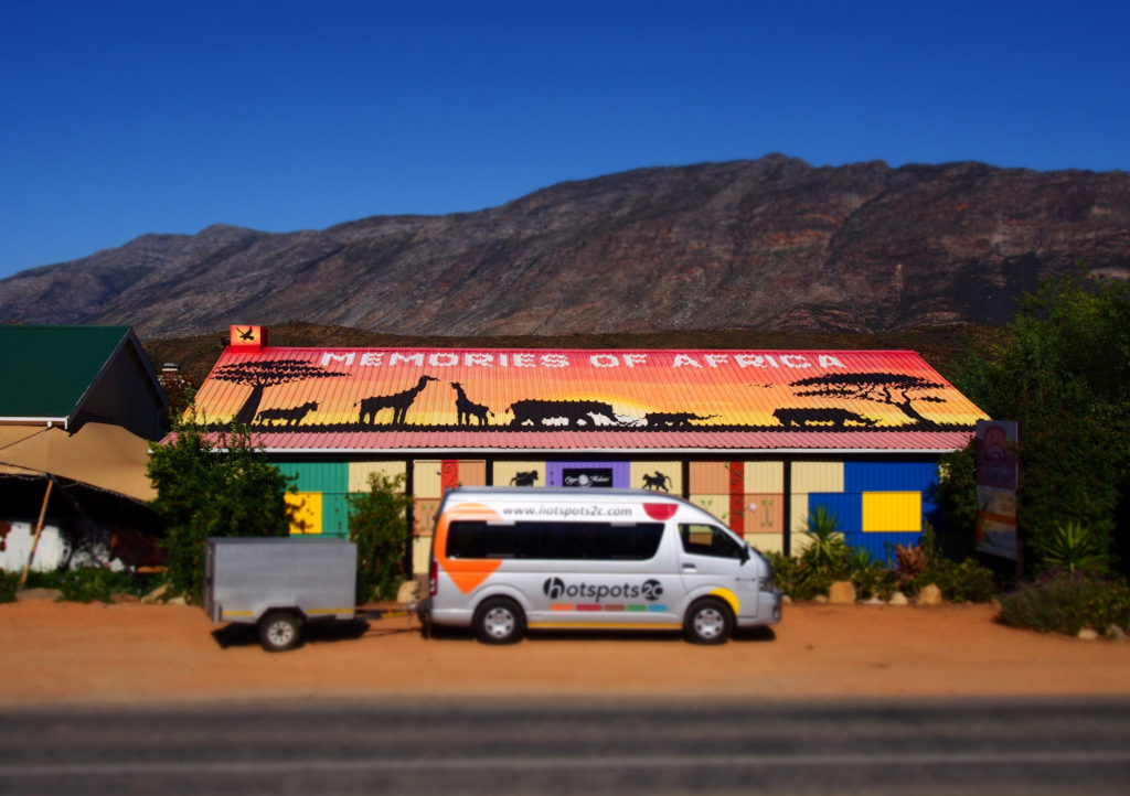 HotSpots2C Tour Bus