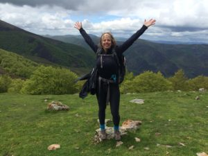 Hiking over the pyrenees