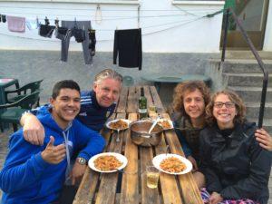 Family Dinner in Larassoaña