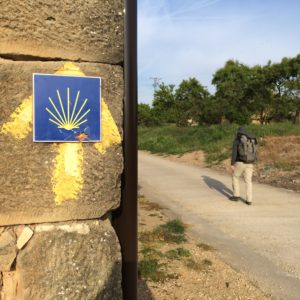 Trail Markers on the Camino