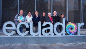 Ecuador Sign with my family and friends