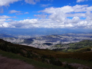 View of Quito from the TeleferiQo