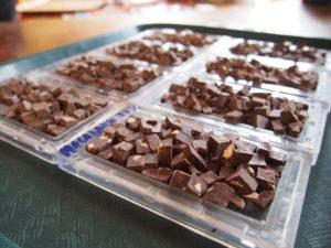 Chocolate tasting at El Quetzal