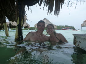 Hanging out in the water bungalows at Cholon