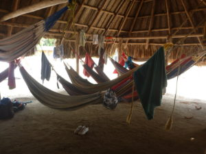 Hammock Accommodation at Cabo San Juan