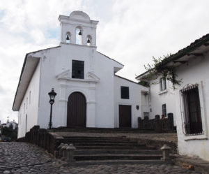 Cute church in Popayan