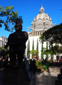 Botero Sculpture and Belgian designed Church