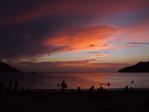 Sunset on Playa Taganga