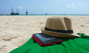 Relaxing on Bavaro Beach