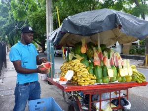 My local fruit seller