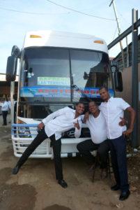 Friendly bus drivers