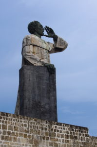 Sculpture at the Malecon