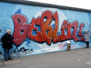 Eastside Gallery in Berlin