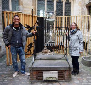 Worlds oldest half-hour hourglass