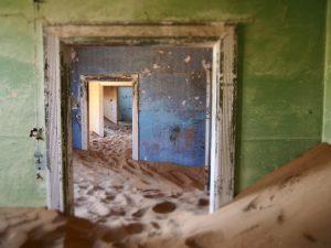Kolmanskop, abandoned residence