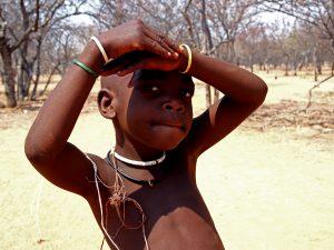 Young Himba boy in Otjikandero