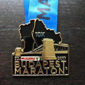 Budapest Marathon Medal