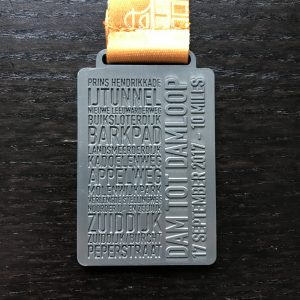Dam tot Damloop Medal