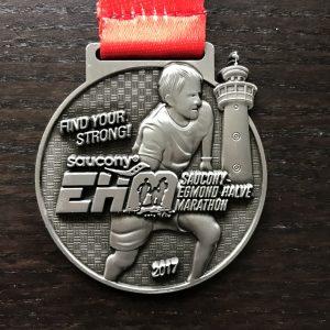 Egmond Aan Zee Half Marathon Medal
