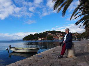 Enjoying the view in Cavtat