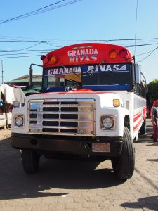Chicken Bus from Granada, Nicaragua