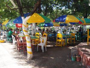 Vigoron stall in Granada's central park