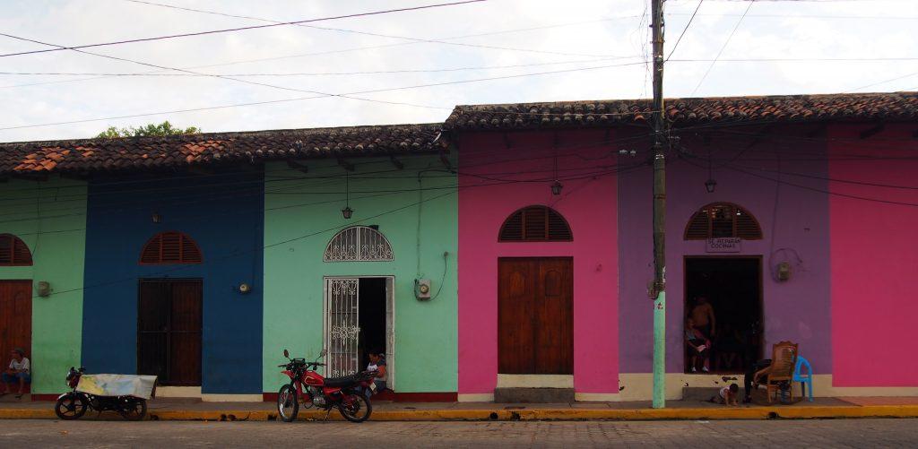 The colourful streets of Granada
