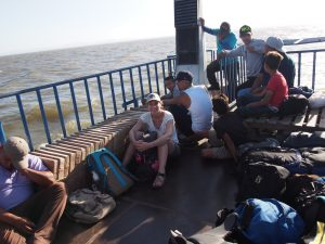 Passenger ferry from San Jorge to Isla Ometepe