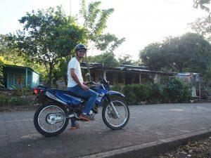 Riding through Balgüe