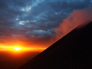 Sunset from Telica Volcano
