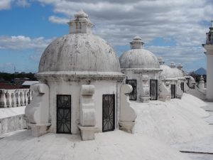 Rooftop views from Catedral Basilica de la Ascunsion